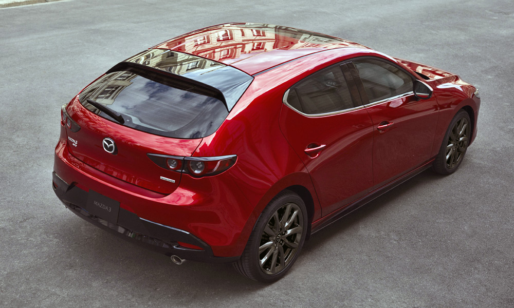 Petrol, diesel and the new Skyactiv-X engines will be offered.