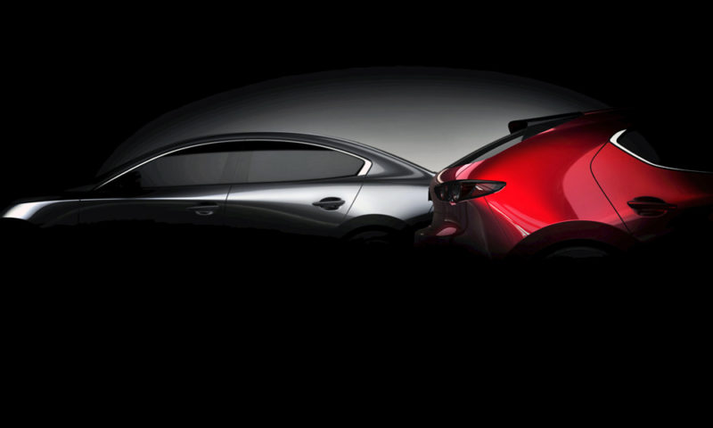 Mazda3 Teased again, set for world debut at LA Auto Show