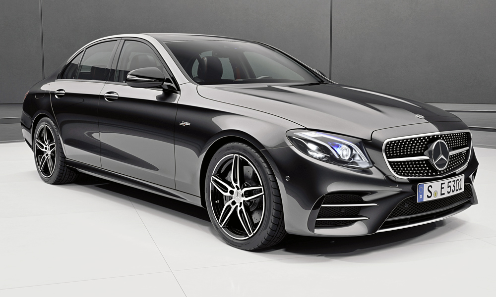 The new Mercedes-AMG E53 has surfaced on the brand's local website.