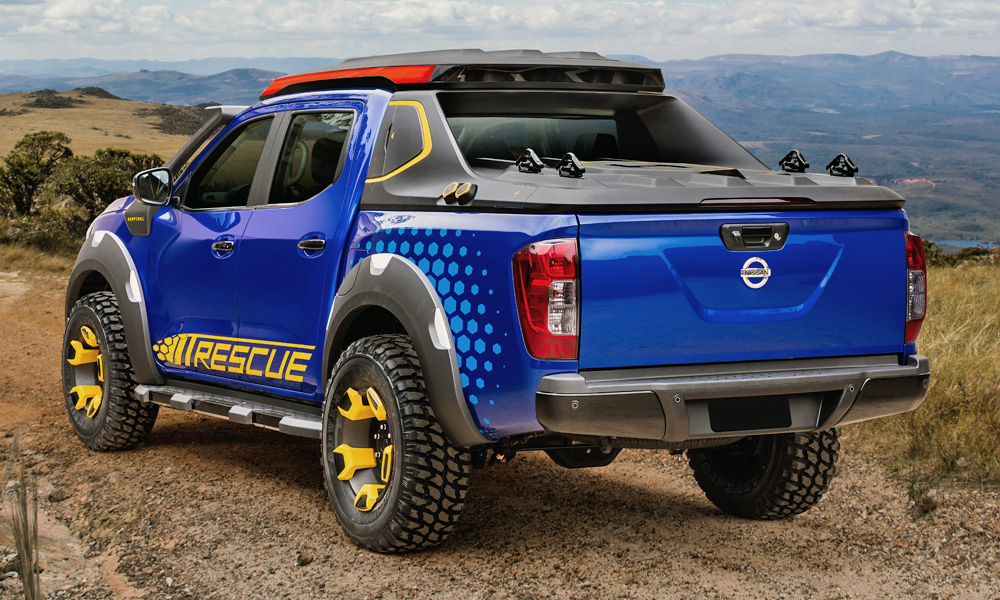 Nissan has revealed its new Navara (Frontier) Sentinel concept.