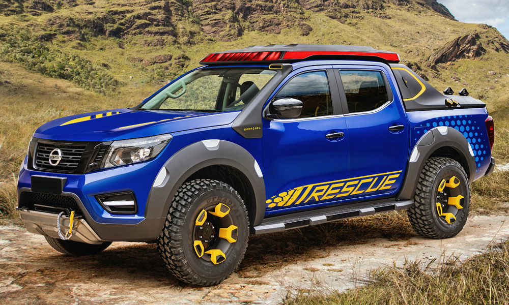 The automaker says it has been designed for rescue missions.
