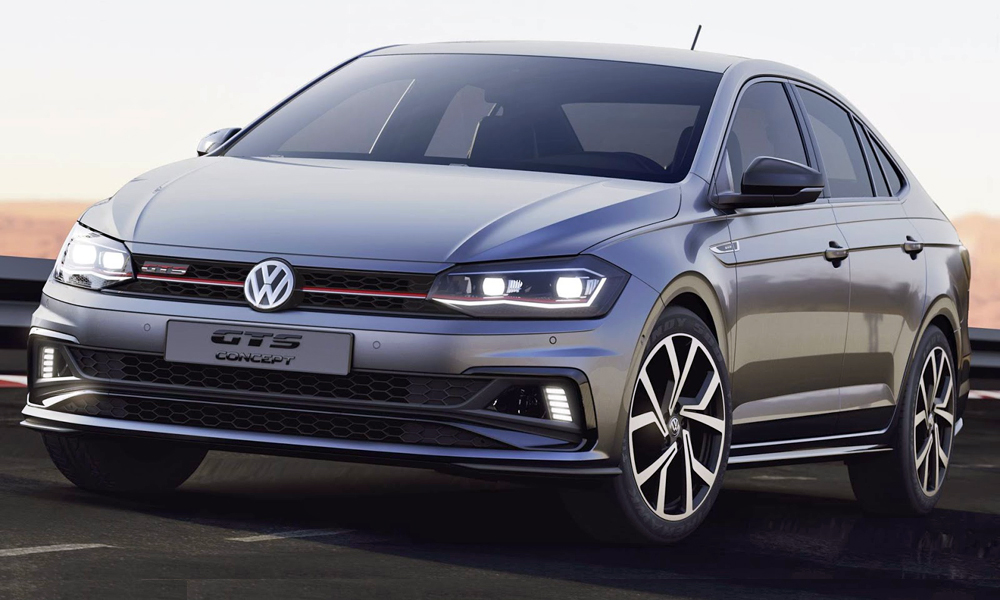 Volkswagen has applied the GTS badge to the Polo sedan.