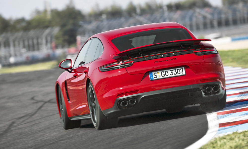 We drive the new Porsche Panamera GTS in Bahrain.