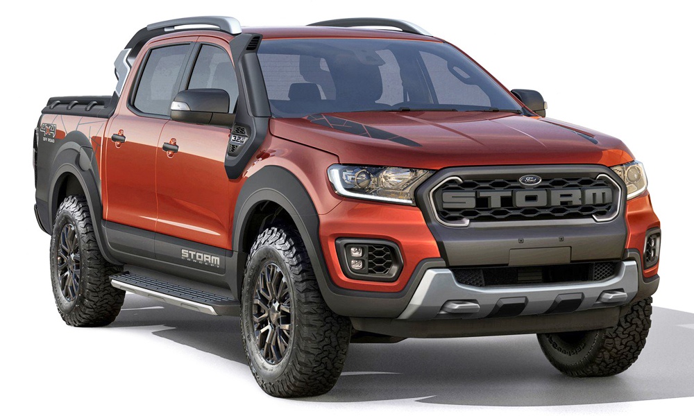 Ford Ranger Raptor 2018 Specs >> Budget Raptor, anyone? Ford Ranger Storm concept revealed - CAR magazine