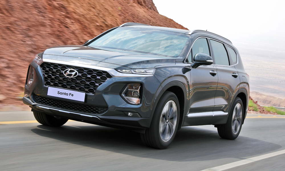 We've driven the new Hyundai Santa Fe in Cape Town.
