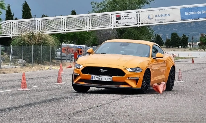 Ford Mustang GT takes on the Moose Test