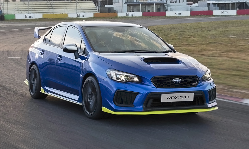 The Subaru WRX STi Diamond Edition has been unleashed!