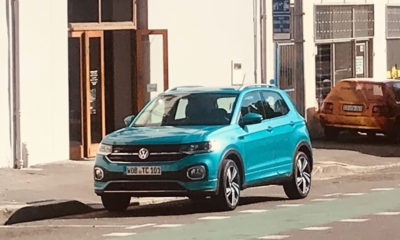 Volkswagen T-Cross filming in SA