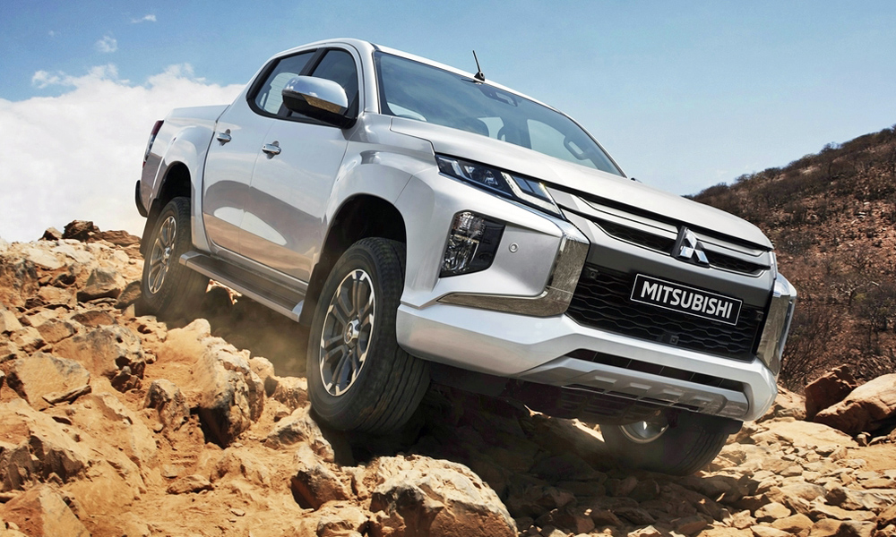 The updated Mitsubishi Triton has been revealed.