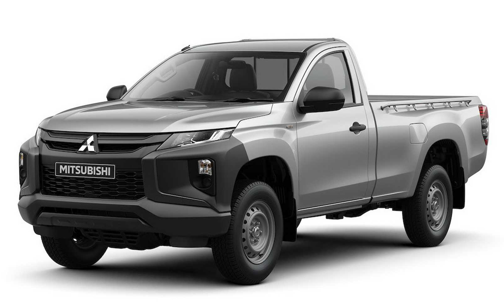This is the updated single-cab model.