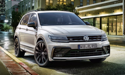 Volkswagen Tiguan with Black Style R-Line package.