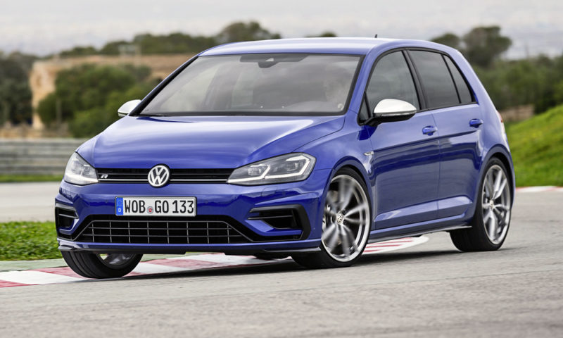 A Volkswagen executive says the brand is evaluating a five-cylinder Golf R.