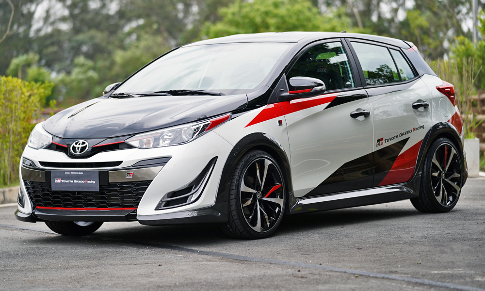 The new Toyota Yaris GR-S concept has been revealed in Brazil.
