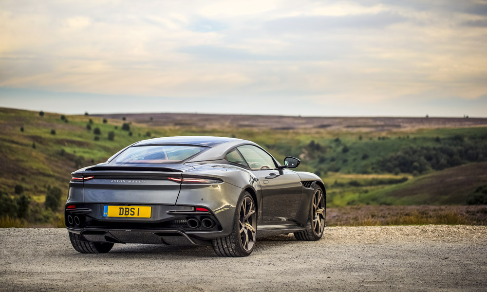 Typical Aston Martin in terms of the design.