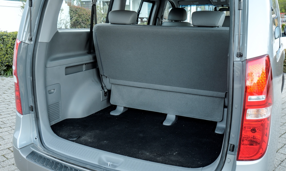 Boot offers a cave-like 616 litres even with the rear bench upright.