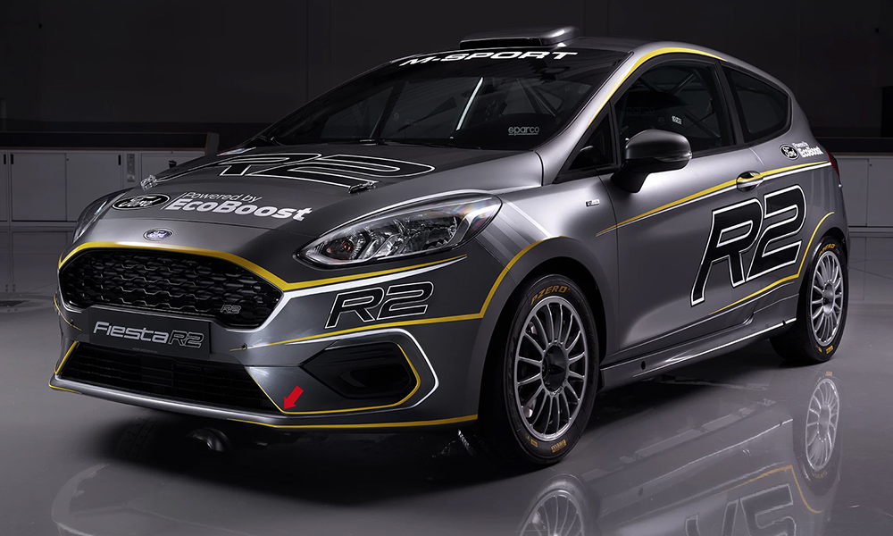 M-Sport has introduced its new Ford Fiesta R2 rally car.