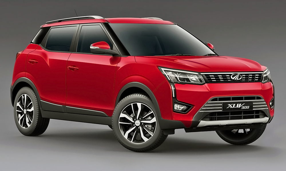 The new Mahindra XUV300 has been unveiled.
