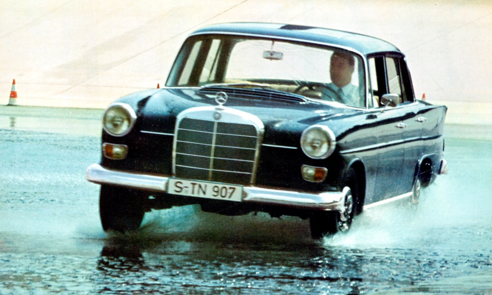 A W110 undergoing pre-launch testing.