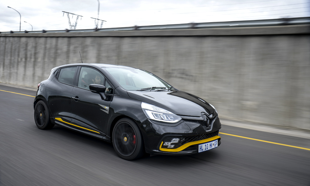 What definitely is on the cards for the Clio RS is track days.
