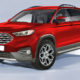 Ford baby bakkie rendered