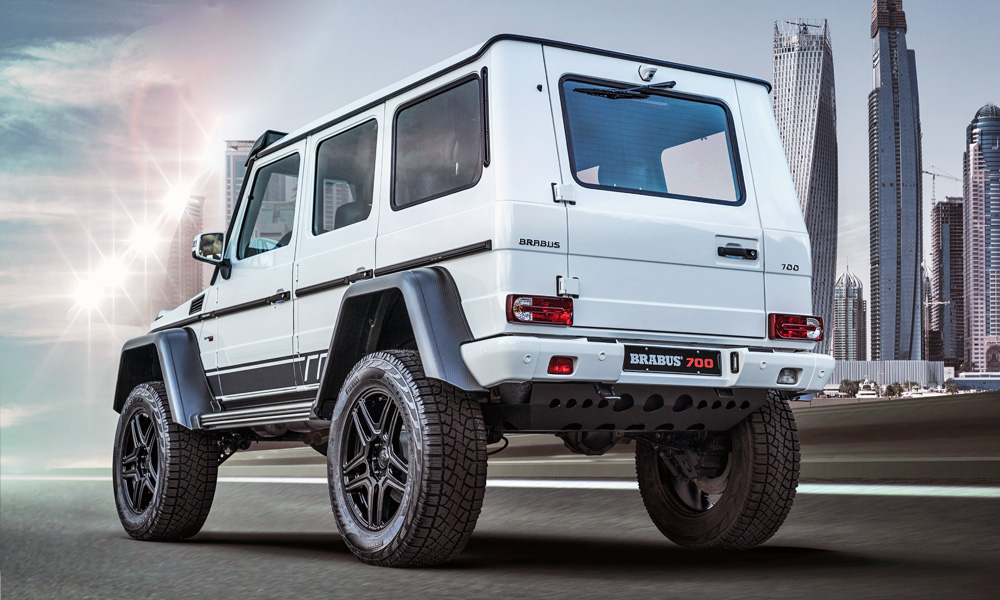 It is based on the old G63.