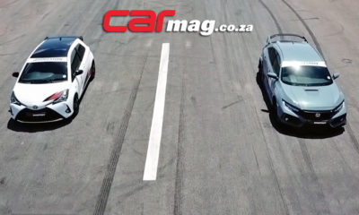 Toyota Yaris GRMN vs. Honda Civic Type R