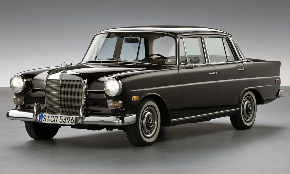 We take a look at the Mercedes-Benz W110 Fintail...
