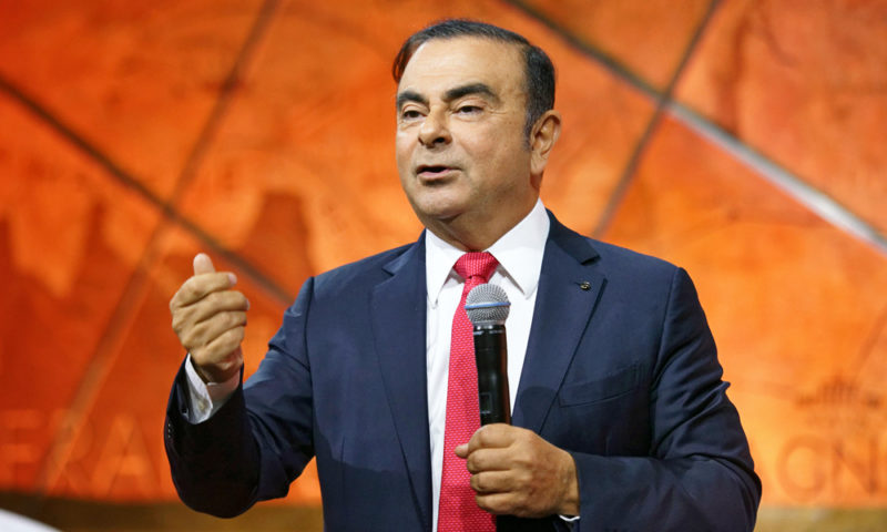 Former Nissan chief Carlos Ghosn indicted in Japan