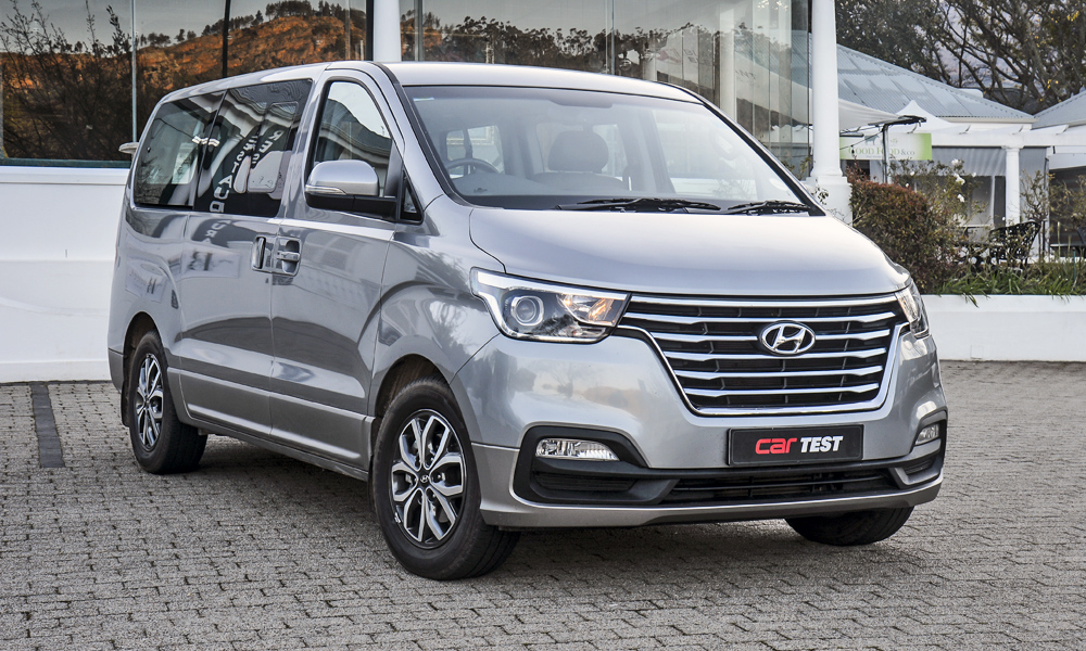 The Hyundai H-1 boasts a surprising level of standard features.