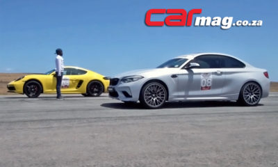 BMW M2 Competition vs. Porsche 718 Cayman GTS