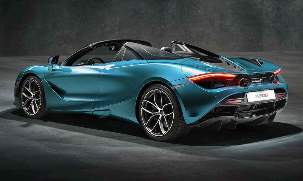 New McLaren 720S Spider Revealed … With Glass Buttresses