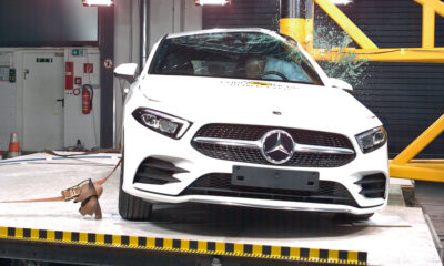 Mercedes-Benz A-Class crash test