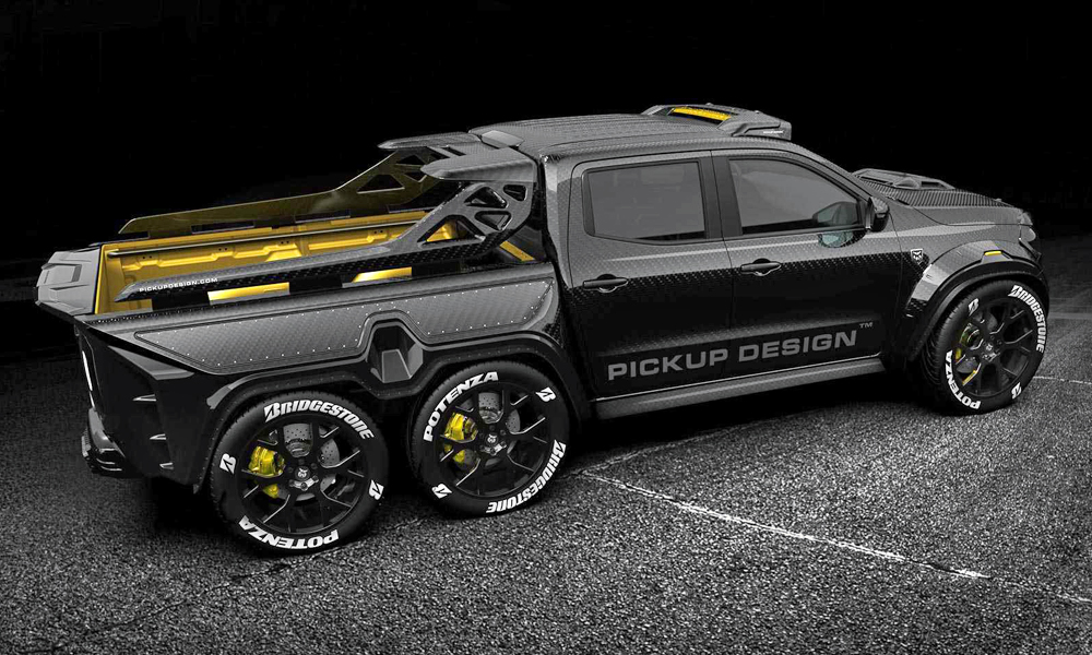 mercedes benz x class turned into widened 6x6 monster car magazine. Black Bedroom Furniture Sets. Home Design Ideas