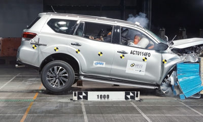 Nissan Terra scores five-star safety rating