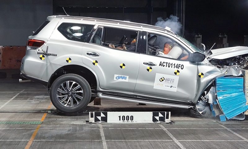 Nissan Terra Scores Five Star Safety Rating