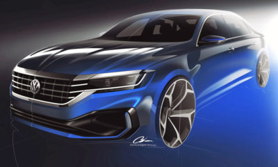 Volkswagen Passat design sketches