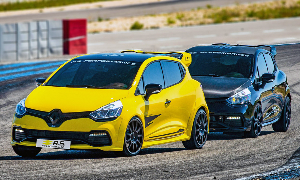 Renault says the parts have been designed with track days in mind.