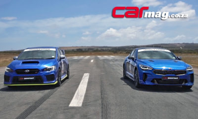 Kia Stinger GT vs. Subaru WRX STI Diamond Edition