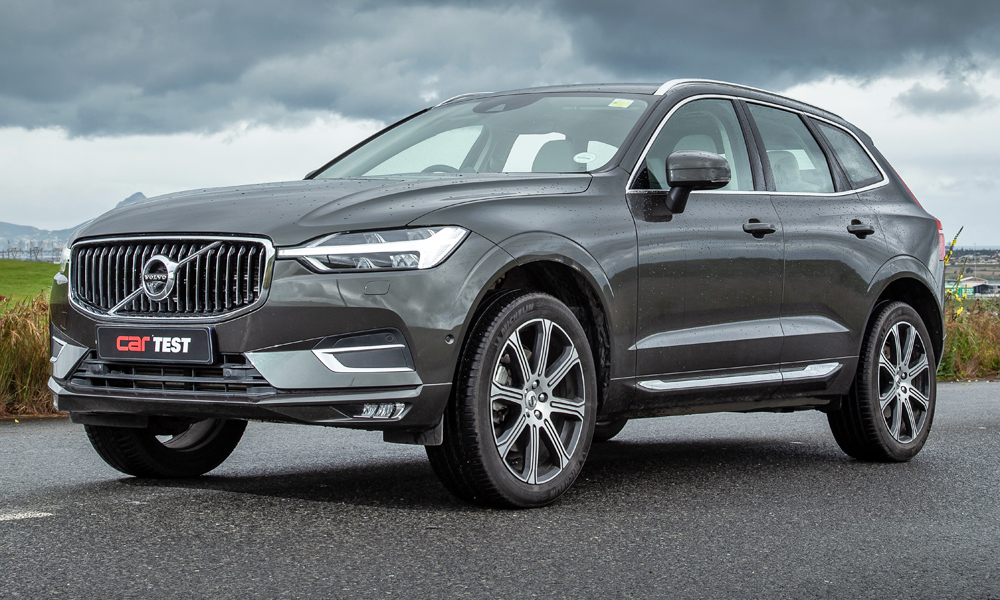 The XC60 is undeniably handsome.