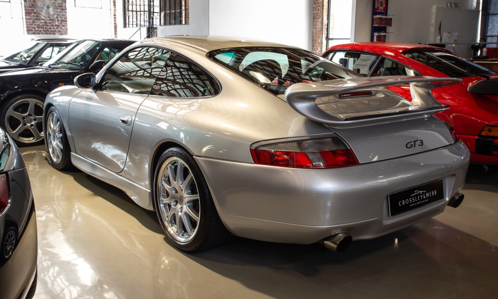 Certain watercooled Porsche 911s, like this 996 GT3, have peaked at R1,2 million.