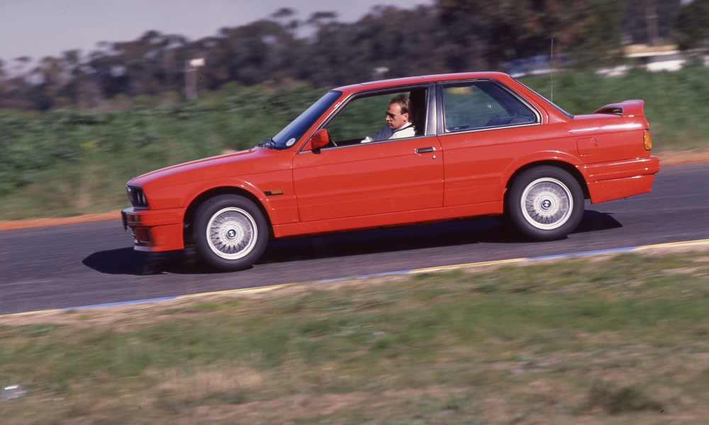 An E30 BMW 325iS, a sought-after South African special.