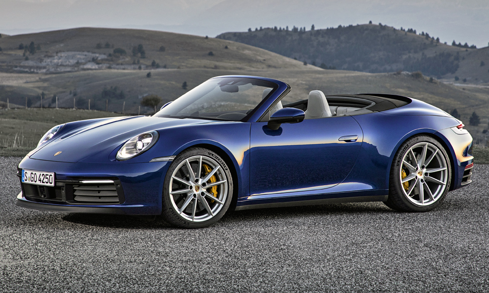 New Porsche 911 Cabriolet 992 Goes Topless With Pricing Car