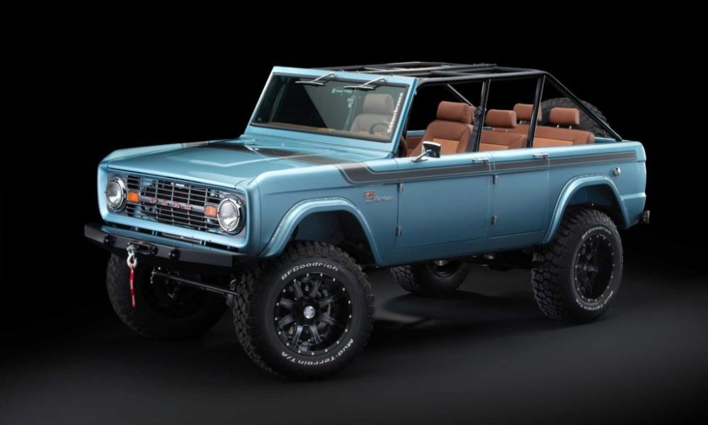 This four-door Bronco has been more than two years in the making.