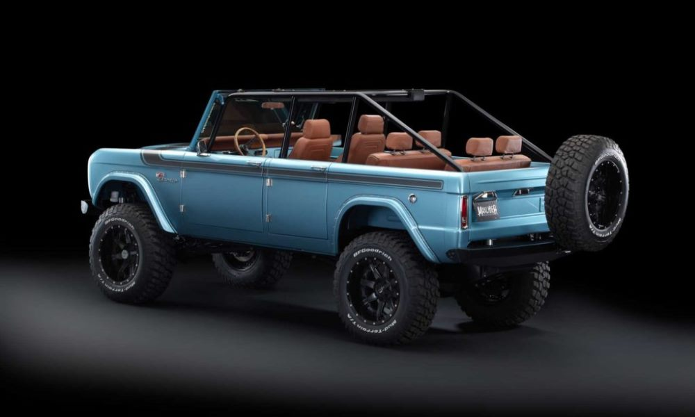 The Bronco gets an extra set of doors and three rows of seats.