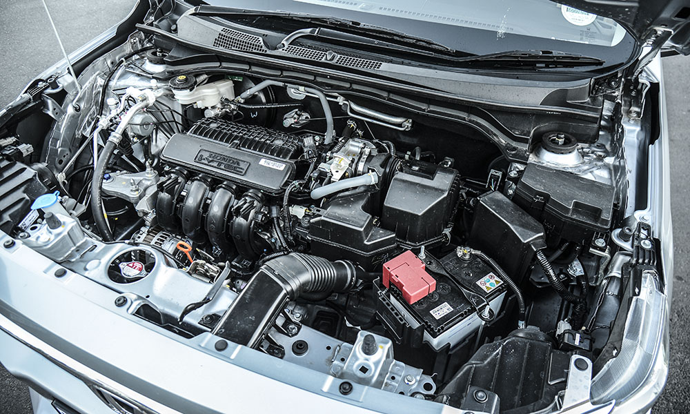 Honda's powerplant is frugal.
