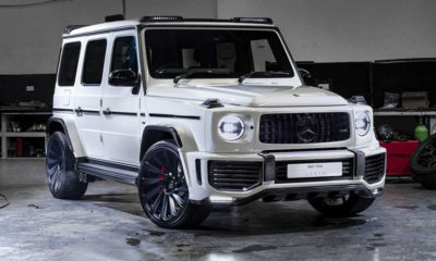 Urban Automotive G63 Widebody front