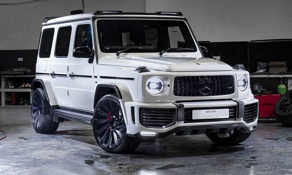 mercedes-amg g63 goes wide-body and gains extra muscle! - car magazine