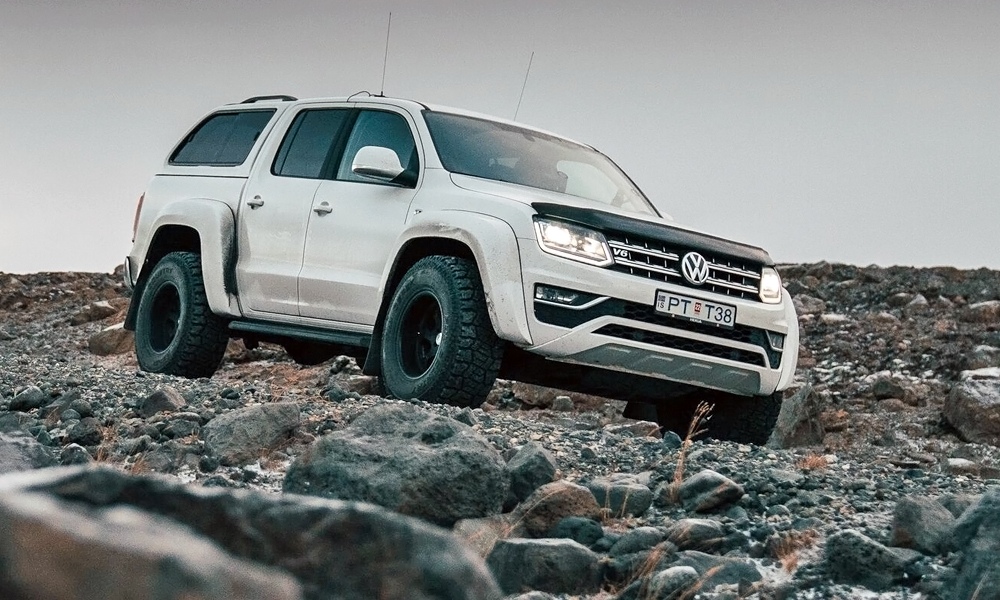 Volkswagen has revealed this one-off Amarok AT35.