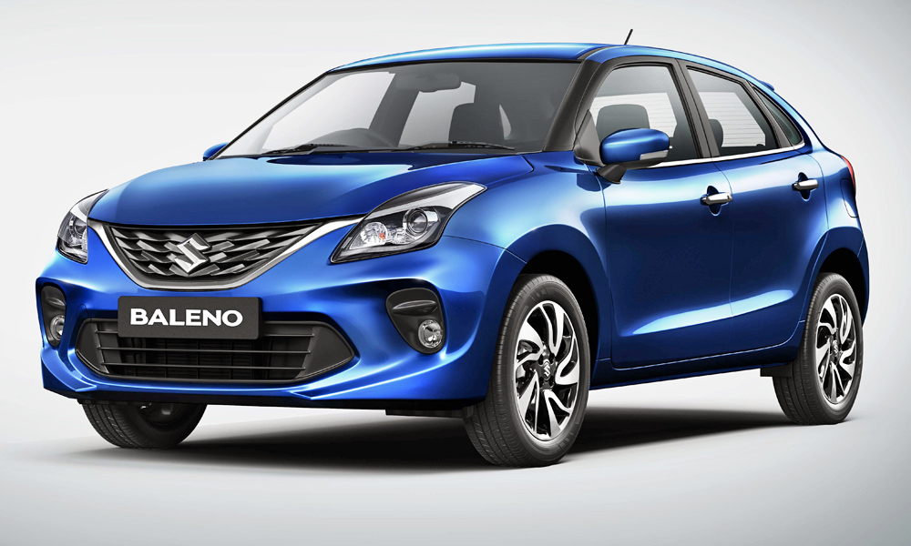 A facelifted version of the Suzuki Baleno has been revealed in India.