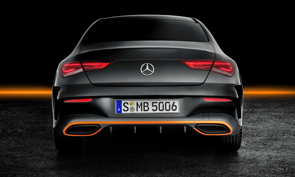 The new CLA is a full 53 mm wider than its forebear.
